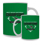 Full Color White Mug 15oz-2017 NCCAA National Softball Champions