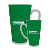 Full Color Latte Mug 17oz-NCCAA National Champions Womens Outdoor Track and Field
