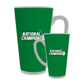 Full Color Latte Mug 17oz-2017 NCCAA National Baseball Champions