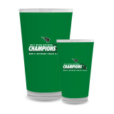 Full Color Glass 17oz-NCCAA National Champions Mens Outdoor Track and Field