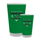 Full Color Glass 17oz-2017 NCCAA National Softball Champions
