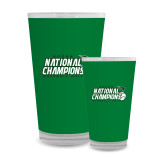 Full Color Glass 17oz-2017 NCCAA National Baseball Champions