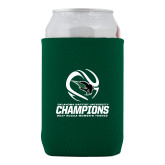 Collapsible Green Can Holder-NCCAA Womens Tennis Champions 2017