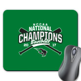 Full Color Mousepad-2017 NCCAA National Champions - Baseball Crossed Bats