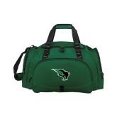 Challenger Team Dark Green Sport Bag-Power Bison