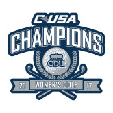 Medium Decal-Conference USA Womens Golf Champions, 8 inches wide