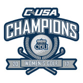 Large Decal-Conference USA Womens Golf Champions, 12 inches wide