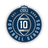 Small Decal-10 Years Football