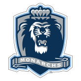 Extra Large Decal-Monarchs Shield, 18 in W
