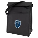 Black Lunch Sack-Lion Shield
