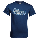 Navy T Shirt-Lady Monarchs
