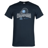 Navy T Shirt-2018 CUSA Mens Tennis Champions