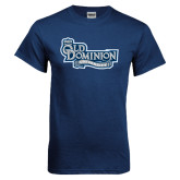 Navy T Shirt-Old Dominion University