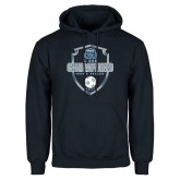 Navy Fleece Hoodie-2017 Conference USA Mens Soccer