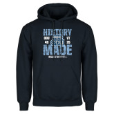 Navy Fleece Hoodie-History Made - ODU vs VT