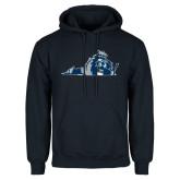 Navy Fleece Hoodie-Lion State