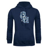 Navy Fleece Hoodie-ODU Step