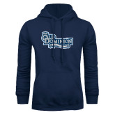 Navy Fleece Hoodie-Old Dominion University
