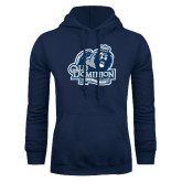 Navy Fleece Hoodie-Lady Monarchs