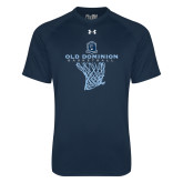 Under Armour Navy Tech Tee-Basketball Net