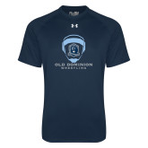 Under Armour Navy Tech Tee-Wrestling Helmet