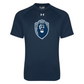 Under Armour Navy Tech Tee-Lion Shield