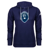 Adidas Climawarm Navy Team Issue Hoodie-Lion Shield