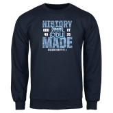 Navy Fleece Crew-History Made - ODU vs VT