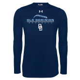 Under Armour Navy Long Sleeve Tech Tee-Baseball Threads