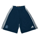 Adidas Climalite Navy Practice Short-Monarchs Shield