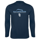 Performance Navy Longsleeve Shirt-Baseball Threads