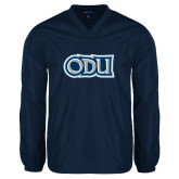 V Neck Navy Raglan Windshirt-ODU