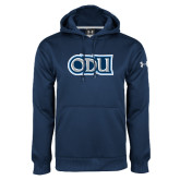 Under Armour Navy Performance Sweats Team Hoodie-ODU