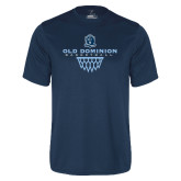 Performance Navy Tee-Basketball Net