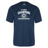 Performance Navy Tee-Conference USA Womens Golf Champions
