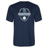 Performance Navy Tee-2017 Conference USA Mens Soccer