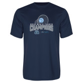 Performance Navy Tee-2018 CUSA Mens Tennis Champions