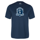 Performance Navy Tee-Monarchs Shield