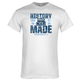 White T Shirt-History Made - ODU vs VT