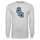 White Long Sleeve T Shirt-ODU Step