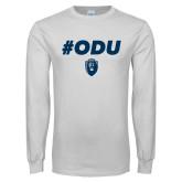 White Long Sleeve T Shirt-#ODU