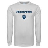 White Long Sleeve T Shirt-#ODUSPORTS