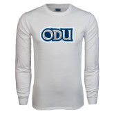 White Long Sleeve T Shirt-ODU