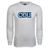 White Long Sleeve T Shirt-ODU