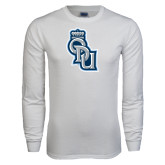 White Long Sleeve T Shirt-ODU Step