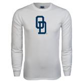White Long Sleeve T Shirt-OD