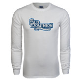 White Long Sleeve T Shirt-Lady Monarchs