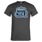 Charcoal T Shirt-ODU w Crown
