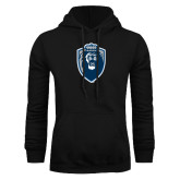 Black Fleece Hoodie-Lion Shield