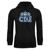 Black Fleece Hoodie-ODU with Crown